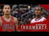 Throwback Derrick Rose vs Chris Paul Full Duel Highlights 2011.12.30 Bulls at Clippers - SICK!!
