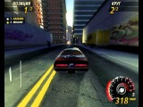 Flatout 2 Downtown 3 GAZZARA Bullet GT 2x nitro (48.56) (Old world record)