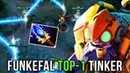 Funkefal TOP-1 Tinker Dotabuff - Back To His Signature Hero - EPIC Gameplay Compilation - Dota 2