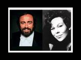 Renata Scotto &amp Luciano Pavarotti. Un di felice. La Traviata.