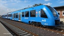 CORADIA iLINT | historic premiere ride of world's first hydrogen powered train | 4K-Quality-Video