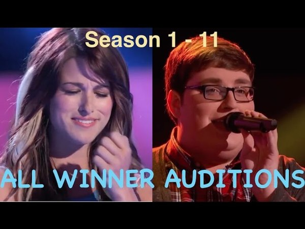 All The Voice USA WINNERS Auditions Season 1-11