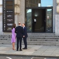 Watch Prince William and Kate in lilac Emilia Wickstead outfit arrive at County Hall, London where they are taking ...