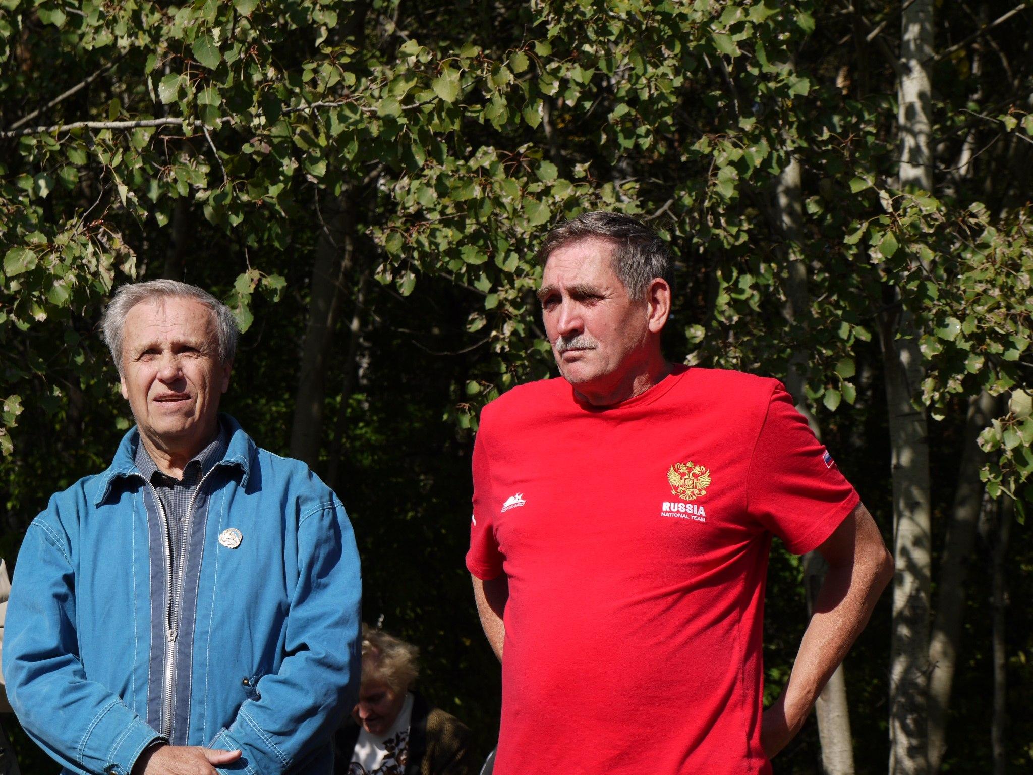 Ю.В. Машков с В. Шатаевым