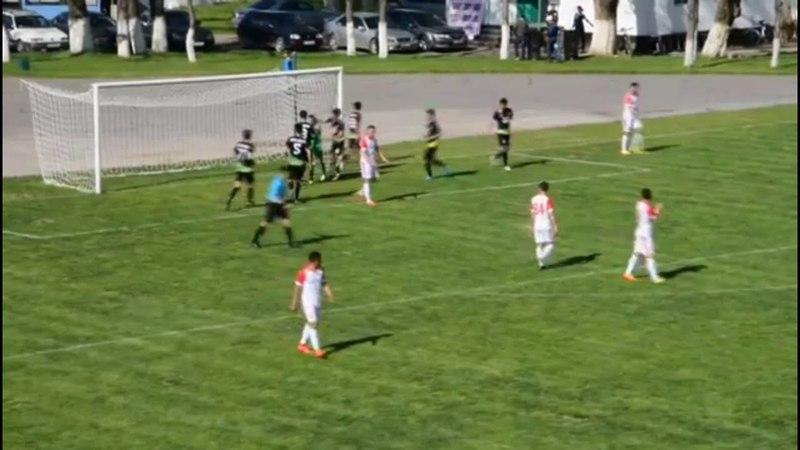 Отбитый пенальти и гол со штрафного в матче Алга - Кара-Балта 5:1