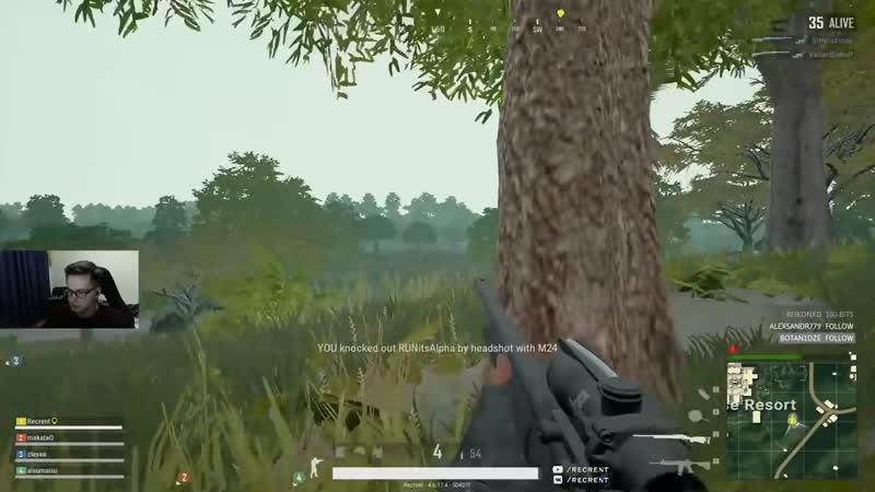 [Recrent] Замечательный сквад (squad fpp 19 kills)