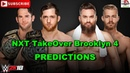 NXT TakeOver Brooklyn 4 NXT Tag Team Championship Undisputed ERA vs. Moustache Mountain WWE 2K18