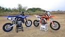 Yamaha YZ65 versus KTM 65SX - Dirt Bike Magazine