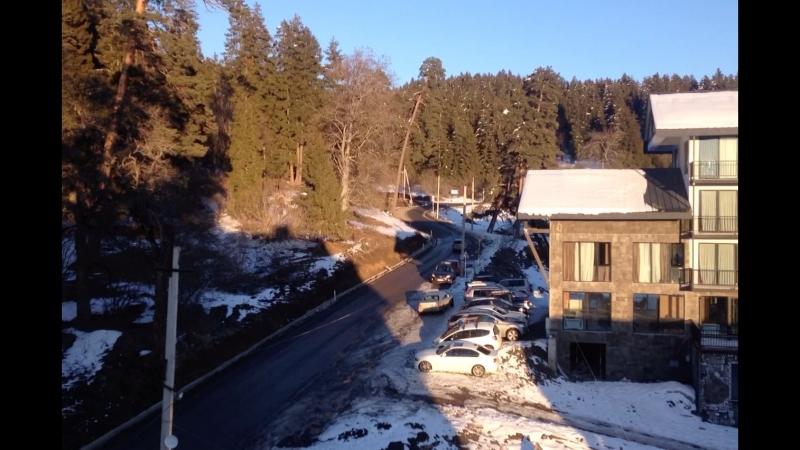 Зима в Грузии, Бакуриани