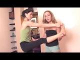 Ashtanga Yoga: Hand to Big Toe Pose, or Utthita Hasta Padangusthasana  | vk.com/yogadn