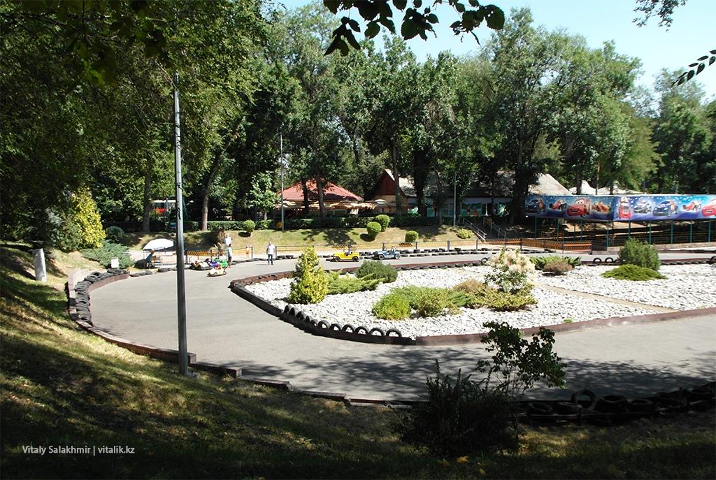 Картинги в Центральном парке Горького Алматы