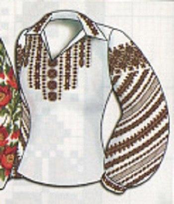 Женская вышиванка - мотивы