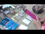 КАРТОЧКИ АТС С ВОСКОВЫМ МЕДИУМОМ видео МК по микс медиа энкаустике Натальи Жуковой