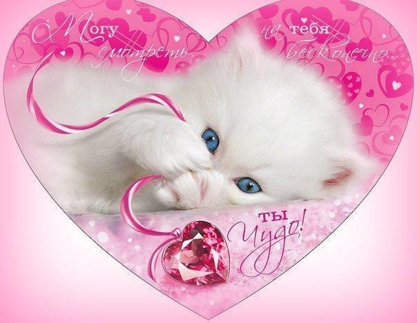 Красивые открытки с сердечками