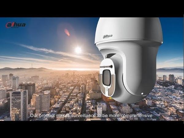 Starlight PTZ camera - Capture details even in low light - Dahua