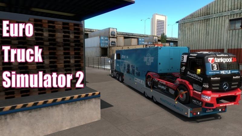 Euro Truck Simulator 2 *Геймпад XboX 360*Вести Фм*DAF 95 ati*