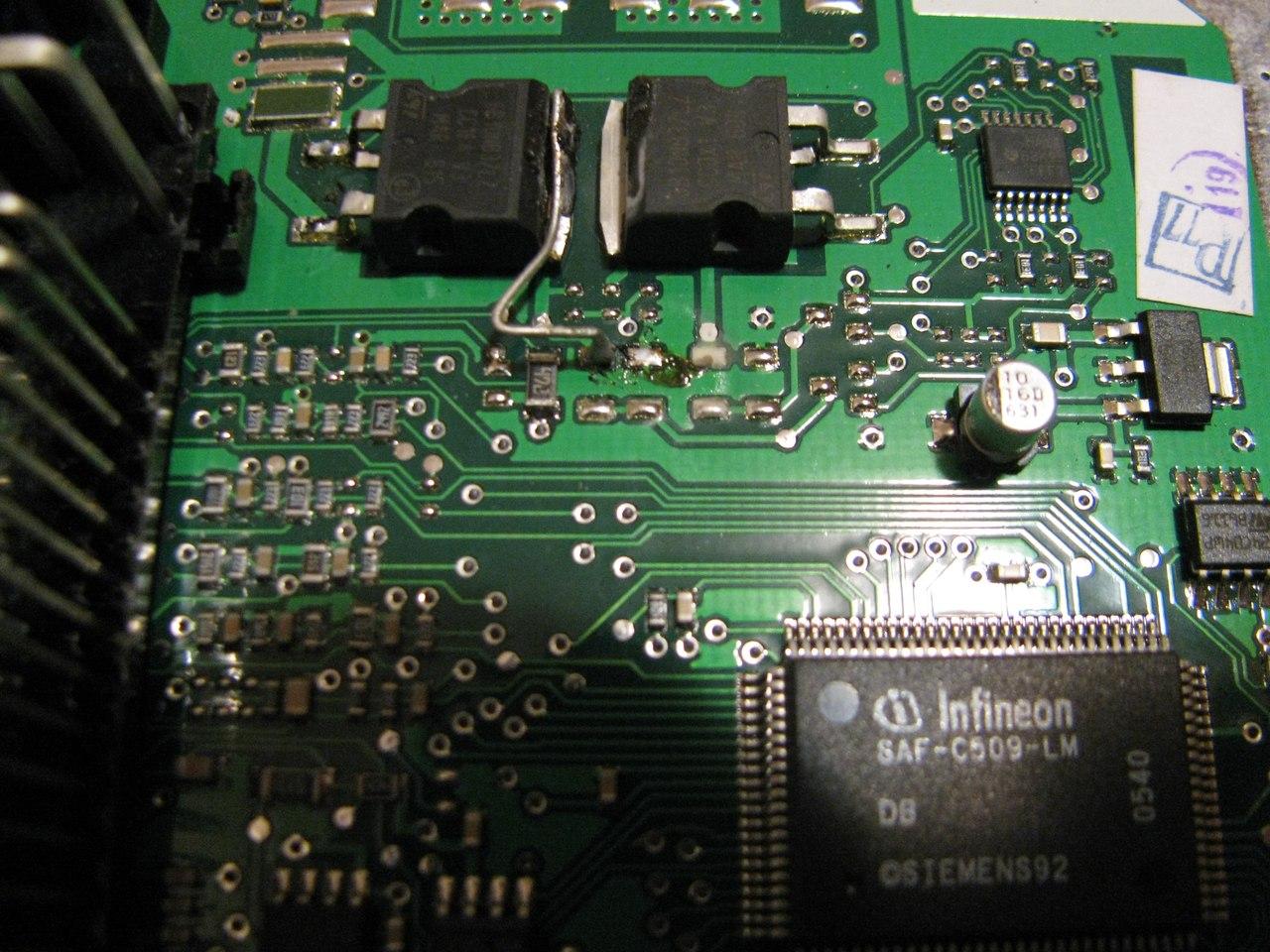 транзистор управления катушкой зажигания маркировка январь 7.2