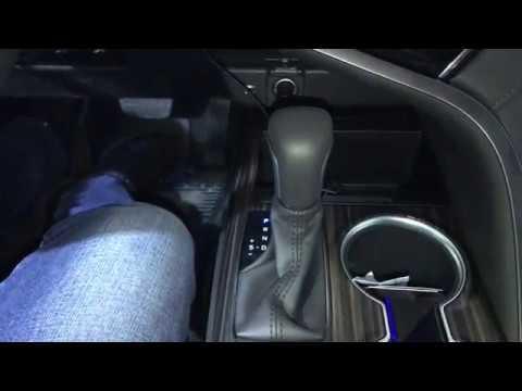 Блокиратор акпп Mul T Lock на Toyota Camry обзор установленного противоугонного замка