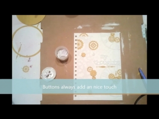 Steampunk Mixed Media Journal Cover Tutorial ( 720 X 1280 ).mp4
