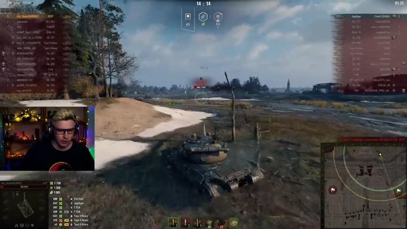 [EviL GrannY | World of Tanks] 2 ЛУЧШИХ БОЯ НА 60TP Lewandowskiego