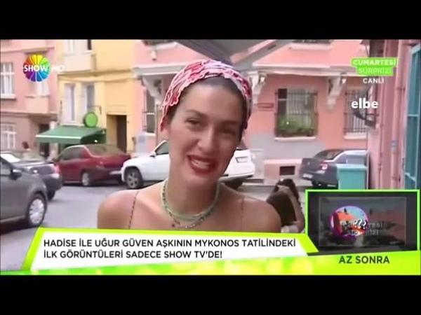 Berguzar Korel on SHOW TV 29082015