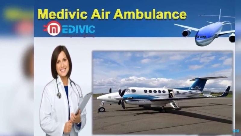 Medivic Aviation Air Ambulance Kolkata to Delhi with Medical Team