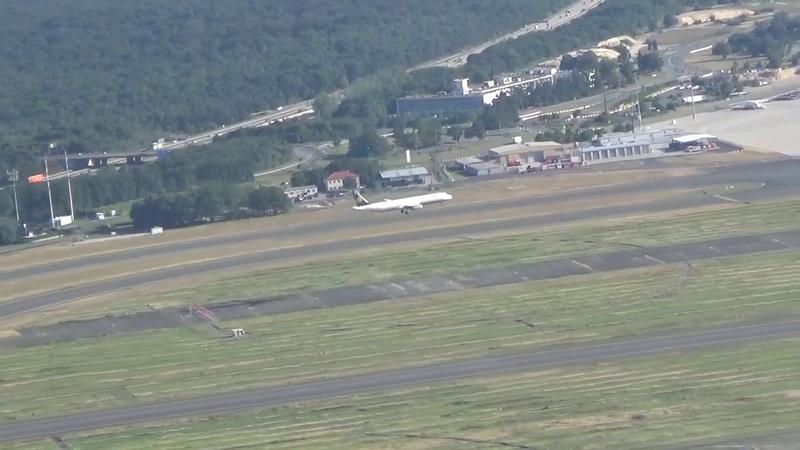Параллельная посадка в аэропорту Франкфурта P4 KEC Air Astana Boeing 767 3KY ER WL