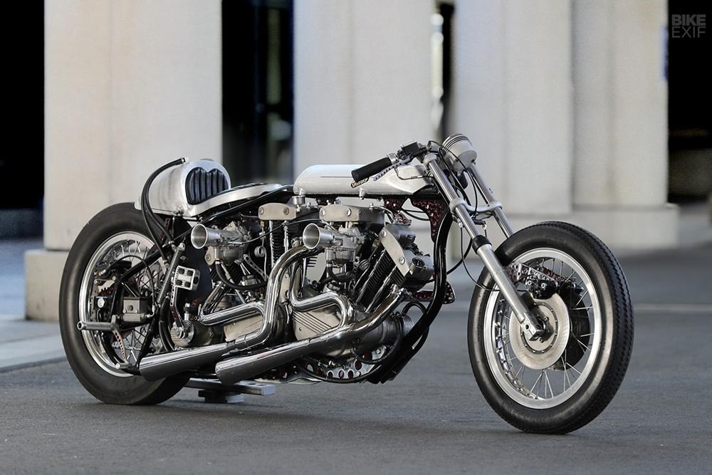 Hot Chop Speed Shop: кастом драг-байк Harley-Davidson