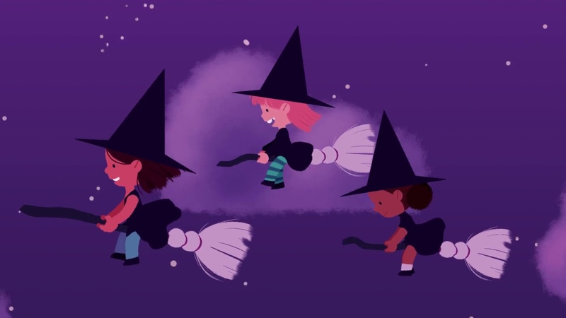 Three Little Witches Halloween Songs for Children Halloween for Kids The Kiboomers