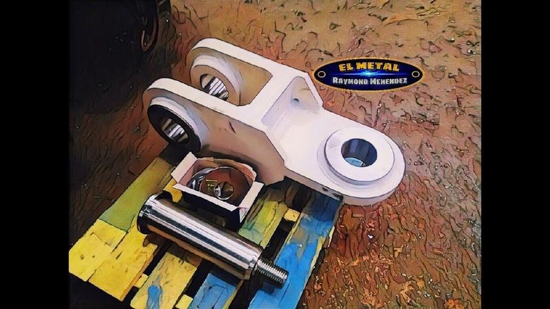 Construccion de una roldana o pasteca.(Construction of a pulley)
