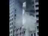 Использование дрона в пожаротушении