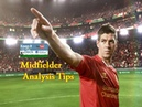 Soccer Midfielder Analysis Tips Support play from wide areas