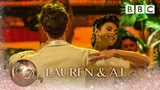 Lauren &amp AJ American Smooth to 'I'm In Love With A Wonderful Guy' from South Pacific - Strictly 2018