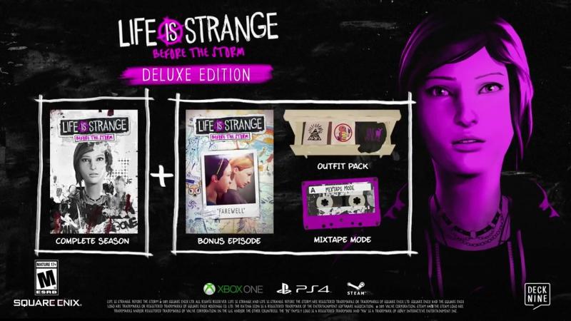 Трейлер Deluxe-издание игры Life is Strange: Before the Storm!