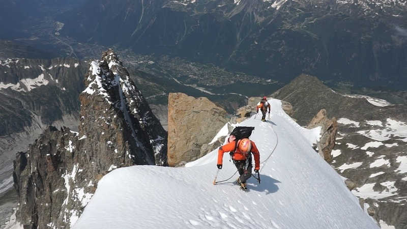2 Aiguille Sans Nom Aiguille Verte La Brown Patey Chamonix Mont-Blanc alpinisme - 10233