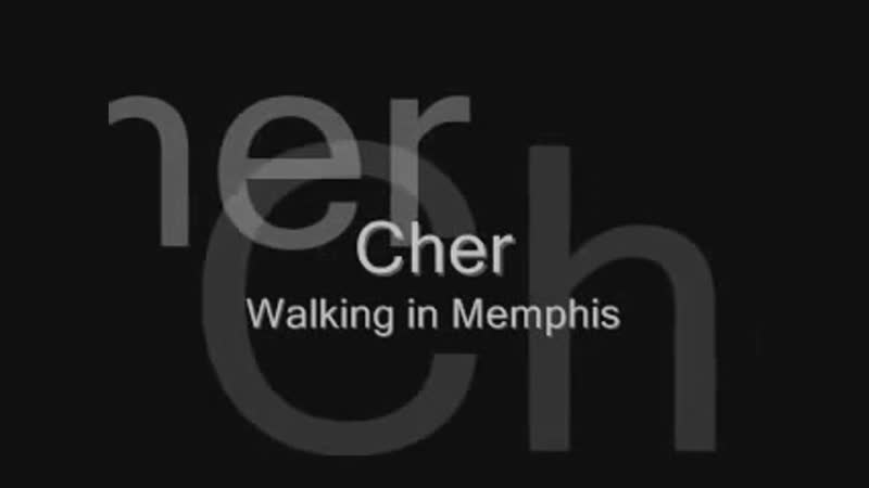 Cher - Walking In Memphis (With Lyrics) By Reprise Records Inc. Ltd. Video Edit.