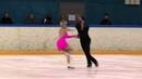 12 Holly MOORE Daniel KLABER USA ISU JGP Tallinn Cup 2013 Junior Ice Dance Free Dance