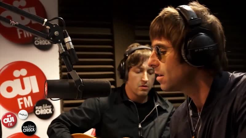 Liam Gallagher and Beady Eye - Start Anew (Session Acoustique OÜI FM 17 May 2013)