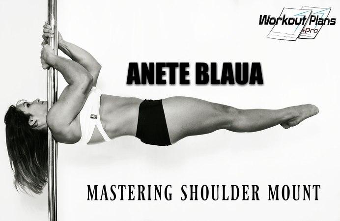 Pole Dance Shoulder Mount - Mastering Tutorial (Part 1)