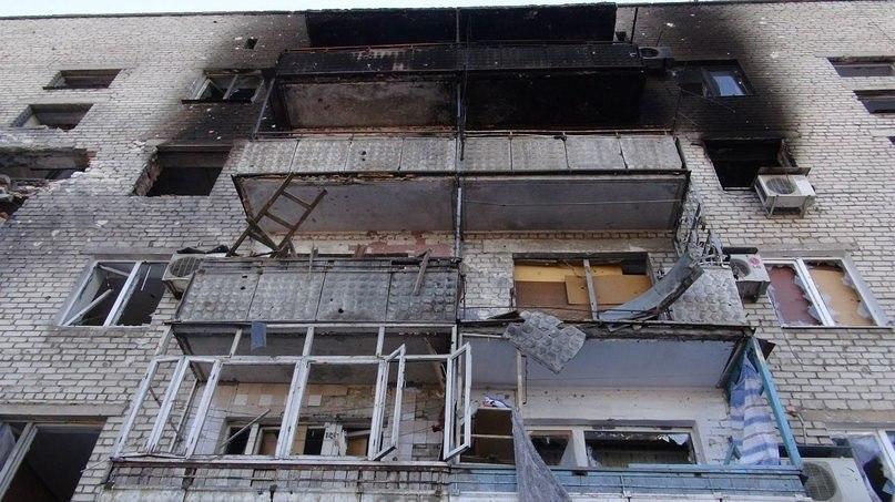 Накануне вечером Киевский район Донецка подвергся обстрелу