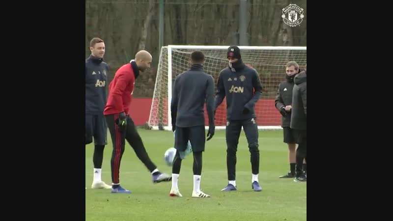 Manchester United - Plenty of good vibes at todays session! 😁 MUFC