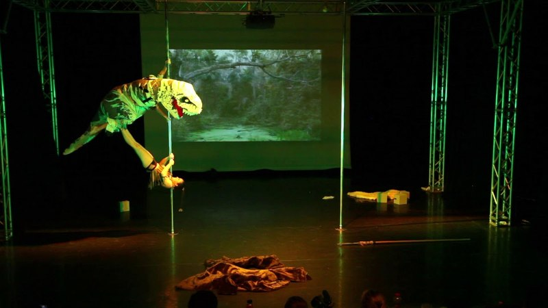 Pole Theatre Hungary 2018 KASCSÁK JENNIFER MAKOVINYI TIFFANY Pro Comedy