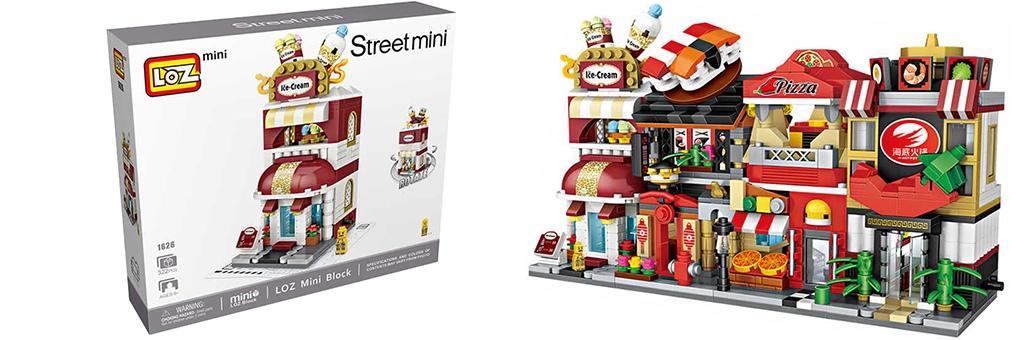 """Конструктор LOZ Street Mini """"Магазин мороженого"""" 1626"""