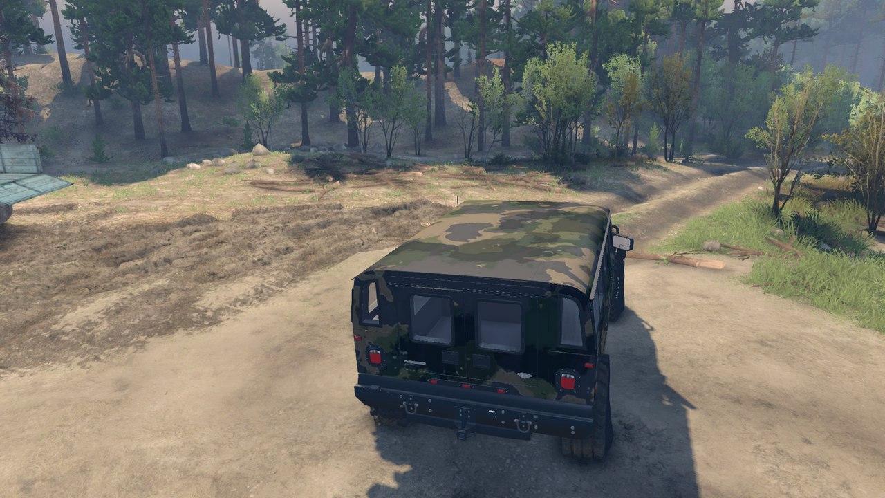 Brute Hummer H1 v1.0 для Spintires - Скриншот 2