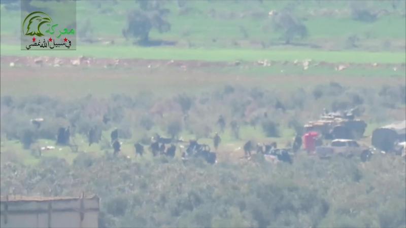 Боевики Джейш аль-Изза (группировка, причисляемая к умеренным заявила, что ей удалось уничтожить от 100 до 150 солдат Асада