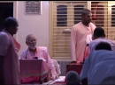 Шрила Бхактиведанта Нараяна вместе с Шрила Бхакти Вигьяна Бхарати Махарадж. Вриндаван. 15.08.2008 г.