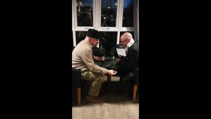 Walter White and Harry Hill lookalikes do a drug deal