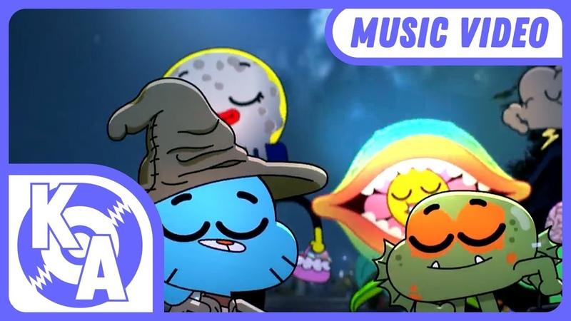 The Amazing World of Gumball | Halloween Song (Remix)