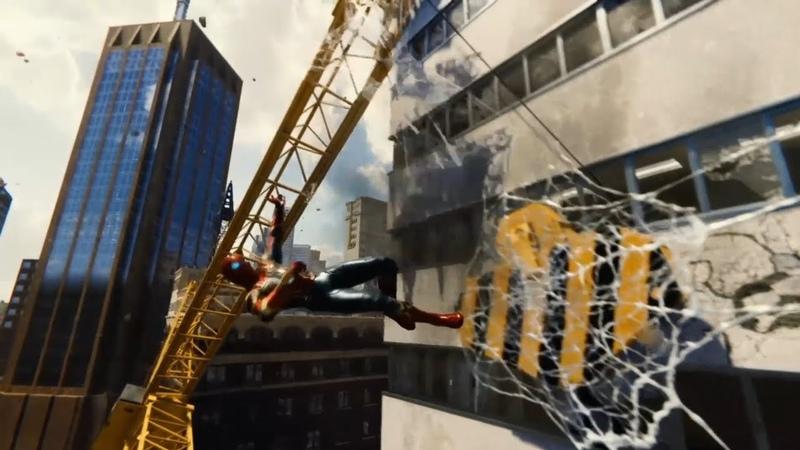Marvel Spider Man ► Эпик с краном ► 10