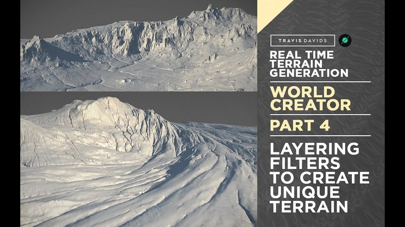 World Creator Introduction - PART 4 - Layering Filters To Create Unique Terrain